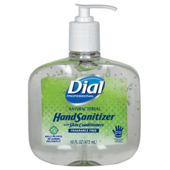 DIA00213 - Dial® Antibacterial Gel Sanitizer with Moisturizer