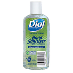 DIA00685 - Dial® Antibacterial Gel Sanitizer with Moisturizer
