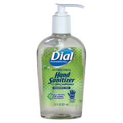 DIA01585 - Dial® Antibacterial Gel Sanitizer with Moisturizer