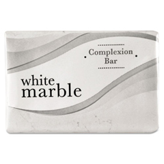 DIA06009 - White Marble Guest Amenities Cleansing Soap