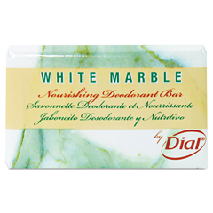 DIA06011 - White Marble Guest Amenities Cleansing Deodorant Soap