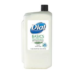 DIA06046 - Dial Professional Basics Hypoallergenic Liquid Soap Dispenser Refill