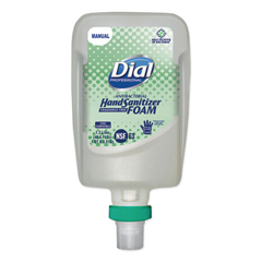DIA19038EA - Dial® FIT® Fragrance-Free Antimicrobial Foaming Hand Sanitizer Manual Dispenser Refill, 1/EA