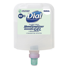 DIA19708 - Dial® Professional Dial 1700 Manual Refill Antibacterial Gel Hand Sanitizer