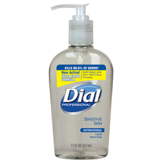 DIA82834 - Dial® Antimicrobial Liquid Soap for Sensitive Skin