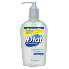 DIA84024 - Dial® Antimicrobial Liquid Soap with Moisturizers and Vitamin E
