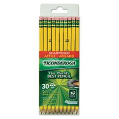 DIX13830 - Ticonderoga® Pre-Sharpened Pencil with Microban®