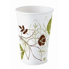 DIX16PPATH - Pathways. 16 oz. Poly Paper Cold Cups