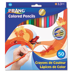 DIX22480 - Prang® 50-Color Pencil Set