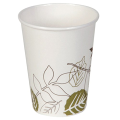 DIX2338PATH - Pathways™ 8 oz. Paper Hot Cups WiseSize