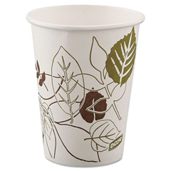 DIX2338WS - Pathways™ 8 oz. Paper Hot Cups WiseSize