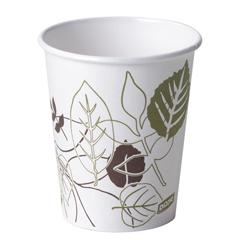 DIX2340PATH - Pathways. 10 oz. Paper Hot Cups