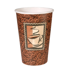 DIX2346DJ - Java Hot Paper Cups