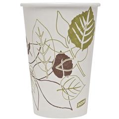 DIX2346PATH - Pathways. 16 oz. Paper Hot Cups