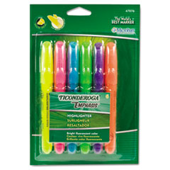 DIX47076 - Ticonderoga® Emphasis™ Desk Style Highlighters