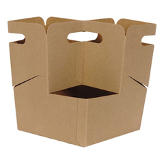 DIX4DCKDR - Four Drink Carrier Take-Out Tray