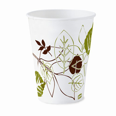 DIX58PATH - Pathways. 5 oz. Wax Treated Paper Cold Cups