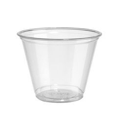 DIXCC9K - Clear Cold Plastic Cups