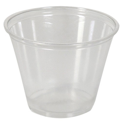 DIXCP9A - PETE Clear Cold Plastic Cups