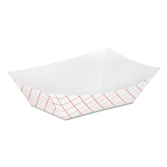 DIXRP50 - Kant Leek® Clay-Coated Paper Food Tray