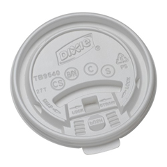 DIXTB9540 - Plastic Lids for Dixie Sage® Collection Hot Drink Cups