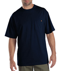 DKI1144624-DN-5X - DickiesMens Short Sleeve Tee Shirts, Two Pack