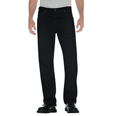 DKI13292-RBB-36-30 - DickiesMens Relaxed-Fit 5-Pocket Jeans
