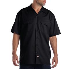 DKI1574-BK-S - DickiesMens Short Sleeve Work Shirts