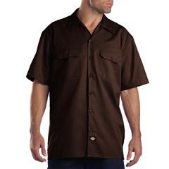 DKI1574-DB-2X - DickiesMens Short Sleeve Work Shirts