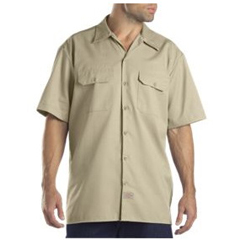 DKI1574-DS-3T - DickiesMens Short Sleeve Work Shirts