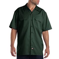 DKI1574-GH-L - DickiesMens Short Sleeve Work Shirts
