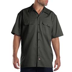 DKI1574-OG-M - DickiesMens Short Sleeve Work Shirts