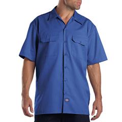DKI1574-RB-4X - DickiesMens Short Sleeve Work Shirts