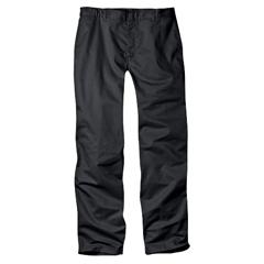 DKI17262-BK-38-34 - DickiesBoys Adult Size Flat Front Pants