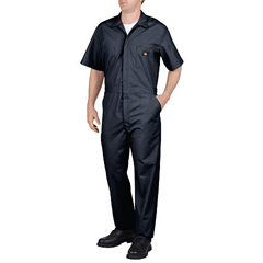 DKI33999-DN-S-RG - DickiesMens Short Sleeve Poplin Coverall