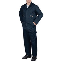 DKI48700-DN-2X-S - DickiesMens Cotton Twill Long Sleeve Coverall