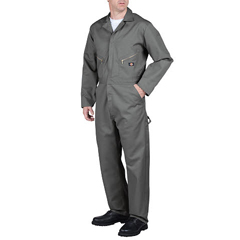 DKI48799-GY-M-TL - DickiesMens Long Sleeve Twill Coveralls