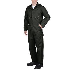 DKI48799-OG-S-TL - DickiesMens Long Sleeve Twill Coveralls