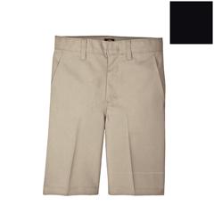 DKI54562-BK-8-RG - DickiesBoys Plain-Front Shorts