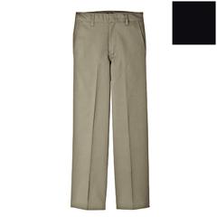 DKI56362-BK-7-S - DickiesBoys Elastic Plain-Front Pants