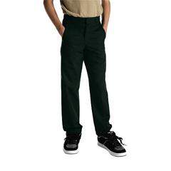 DKI56062-GH-8 - DickiesBoys Husky Plain-Front Pants