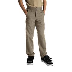 DKI56062-KH-10 - DickiesBoys Husky Plain-Front Pants