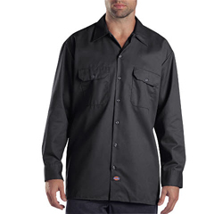 DKI574-CH-3X - DickiesMens Long Sleeve Work Shirts