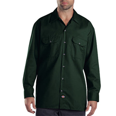 DKI574-GH-S - DickiesMens Long Sleeve Work Shirts
