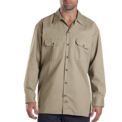 DKI574-KH-3T - DickiesMens Long Sleeve Work Shirts
