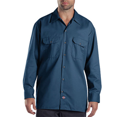 DKI574-NV-3X - DickiesMens Long Sleeve Work Shirts