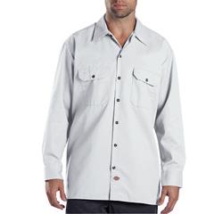 DKI574-WH-M - DickiesMens Long Sleeve Work Shirts