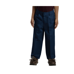 DKI58362-DN-6-S - DickiesBoys Elastic Pleated Pants