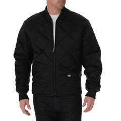 DKI61242-BK-XL - DickiesMens Nylon Quilted Jackets