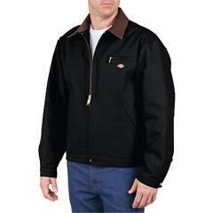 DKI758-BK-L - DickiesMens Duck Blanket Lined Jacket
